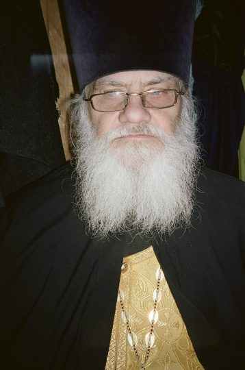 Archpriest Alexander / From the series Motherland. Far Beyond the Polar Circle, 2019, 35mm colour film